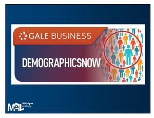 Gale Business Demographics Now